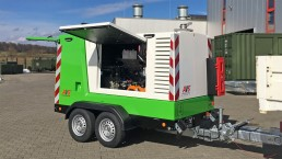 100 kVA Energieversorger fahrbar