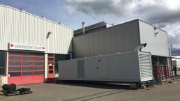 1000 kVA Energieversorger 40 Fuss Container