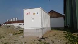 100 kVA Energieversorger 20 Fuß Container
