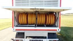 1130 kVA Energieversorger fahrbar-Container Glattblech