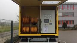 350 kVA Energieversorger fahrbar 2-Achs-Anhänger