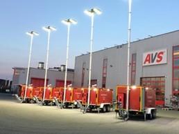40-kVA-und-125-kVA-Katastrophenschutz-Flutlicht-LED
