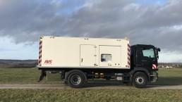 400 kVA Energieversorger Selbstfahrer
