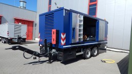 400 kVA Energieversorger fahrbar Tandem-Fahrgestell