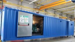 400 kVA und 30 kVA 30 Fuß Container Energieversorger