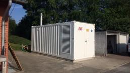 500 kVA Energieversorger 20 Fuß Container