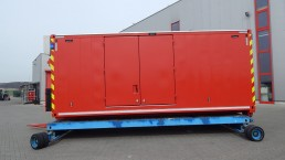 600 kVA Energieversorger 20 Fuß Abrollcontainer