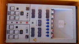 60 kVA und 12 kVA in einem 20 Fuß Container