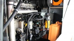 Motorraum 130 kVA