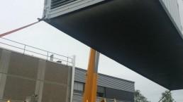 1000 kVA Montage 40Fuß Container