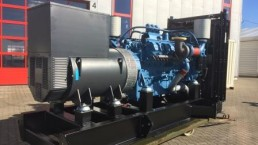 1000 kVA Montage Maschinensatz