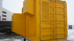 100 kVA Stromaggregat Customized Solution