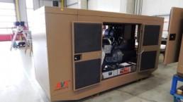 125 kVA Einbauaggregat für Wasseraufbereitungsanlagen