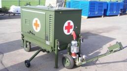 12 kVA Bundeswehr mobile Erstversorgung