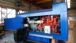 155 kVA Antriebseinheit mit Abgasstufe 4F