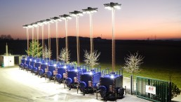 17 kVA Katastrophenschutz Flutlicht LED