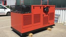 180 kVA Antriebseinheit Steinbrecher