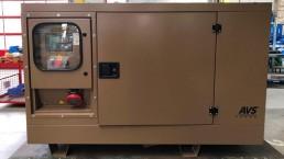 20 kVA Einbauaggregat für Wasseraufbereitungsanlagen