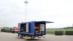250 kVA Katastrophenschutz Flutlicht HERO