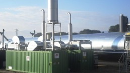 250 kW BHKW Biogas Container 9x3m