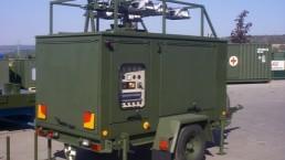 25 kVA Bundeswehr Flutlicht