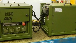 2,5 kVA Bundeswehr Stromaggregat