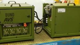 2,5 kVA Bundeswehr Stromaggregat mit VSCF Technologie