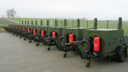 2 kVA Bundeswehr Checkpoint mit Flutlicht