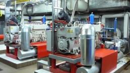 2x100 kW BHKW Biogas