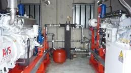 2x190 kW BHKW Biogas