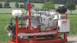 190 kW BHKW Biogas