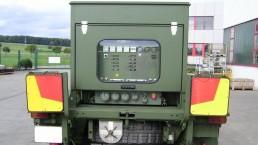 30 kW Bundeswehr auf Anhänger verlastet