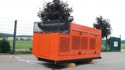 325 kVA Antriebseinheit für Steinbrecher
