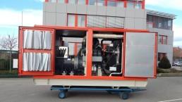 350 kVA Antriebseinheit für Steinbrecher