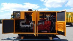 350 kVA Stromaggregat mit Partikelfilter