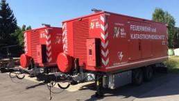 400 kVA Katastrophenschutz Feuerwehr