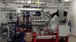 400 kW BHKW Biogas