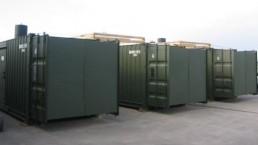 500 kVA Stromerzeugungscontainer SEC Bundeswehr