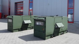 50 kVA Bundeswehr Stromaggregat