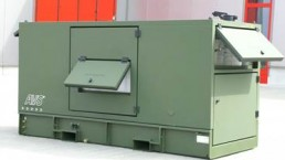 50 kVA Bundeswehr Stromaggregat mit VSCF Technologie
