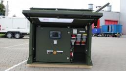 50 kVA Stromaggregat für Feldlagerversorgung