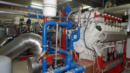 530 kW BHKW Biogas