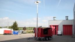 60 kVA Katastrophenschutz Flutlicht HERO