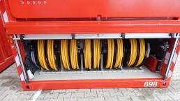700 kVA Containeraggregate Feuerwehr
