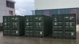 Kabelnetzcontainer KNC Bundeswehr