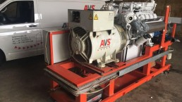 Motorrevision - Motor wieder eingebaut