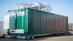 200 kW BHKW Biogas 20 Fuß Container
