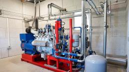 200 kW BHKW Biogas