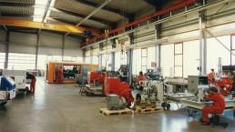 Neubau der Montagehalle für die Aggregate Fertigung