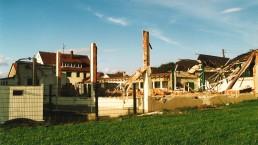 Abriss und Neubau Montagehalle in Ehingen-Stetten
